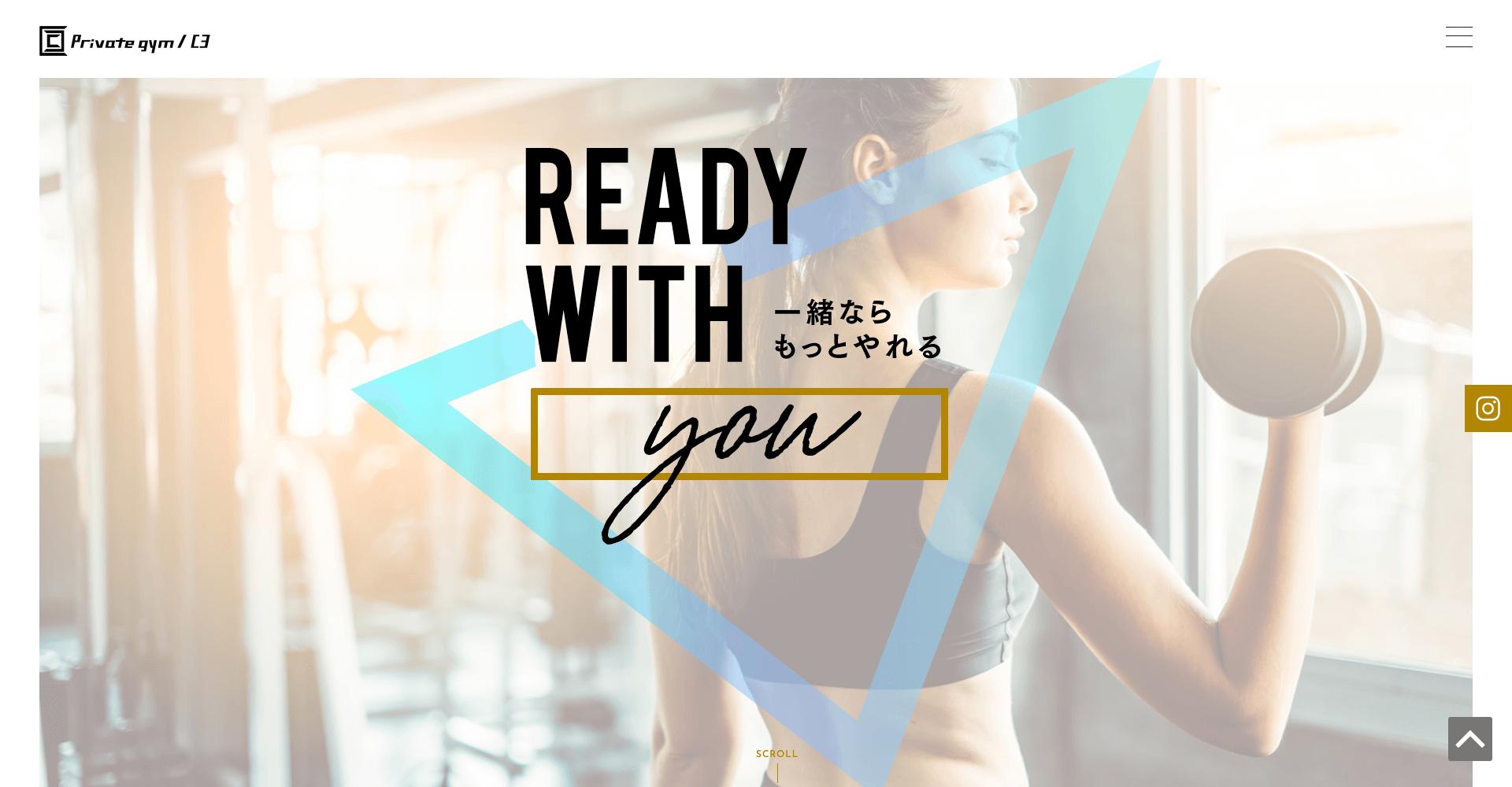 c3 gym 0から始めるダイエット&トレーニング